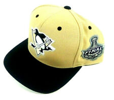 Pittsburgh Penguins 2009 Stanley Cup Final Baseball Cap Embroidered Vintage NEW