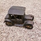 Antique Cast Iron Model T Style Car 5.5 Inches by 2.5 Inches