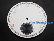 P366 ETA 6498 Sea-gull st36 movement Kit 38.9mm Corgeut White Dial Mens' Watch