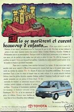 Publicité advertising 1992 Nouveau Lite Ace Toyota