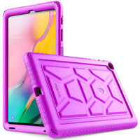 Poetic Silicone Protective Cover Case For Galaxy Tab A 10.1 2019 Tablet  Purple
