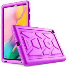 Poetic ® Estuche con Cubierta Protectora De Silicona Para Tablet Galaxy Tab A 10.1 2019 púrpura