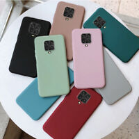 For Xiaomi Redmi 9A Note 9s 9 8 Pro Soft Silicone Rubber TPU Thin Gel Case Cover