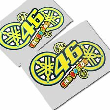 Rossi 46 the doctor new style stickers  motorcycle decals custom graphics x 2