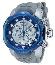 Invicta 19924 Reserve Venom Sea Dragon Chronograph Silver-Blue Dial Men's Watch