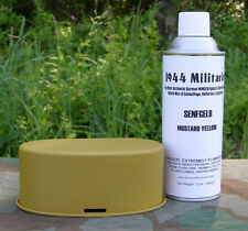 German WWII Senfgelb (Mustard Yellow) 12 oz Can SPRAY PAINT (Lacquer)