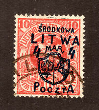 CENTRAL LITHUANIA  #14  USED  (1609122)
