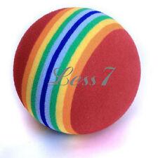 Hot Sale 1x Foam Sponge Practice Aids Golf Rainbow Ball Swing Training Indoor