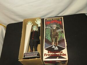 JAPANESE T-N BATTERY OPERATED MOD MONSTER BLUSHING FRANKENSTEIN in box excellent
