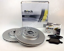 """Volvo S40 16"""" Wheels OE Quality 300mm Front Breck Brake Pads & Disc Set"""