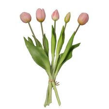 Flor Artificial Tulipán Látex Falso Plástico Artificial Decoración Hogar Oficina