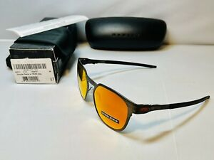 New Oakley Diecutter Men's Sunglasses Pewter Metal Frame, with Prizm Ruby Lenses