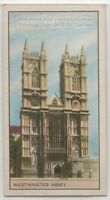 Westminster Abbey London England Vintage Trade Ad Card
