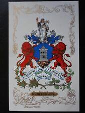 c1906 - DUNFERMLINE - Heraldic Coat of Arms