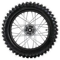 "15mm Axle 1.85x16"" 90/100-16 Rear Wheel Rim Tire for Pit Pro Dirt Trail Bike US"