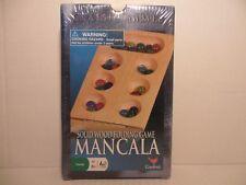 Classic Mancala Solid Wood Folding Game Cardinal NEW/SEALED