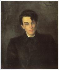 William Butler Yeats by Jack Butler Yeats Irish print in 11 x 14 mount SUPERB