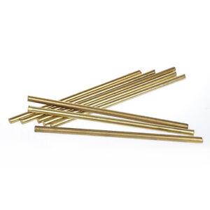 Brass Rod Bar Handles Knife Rivet Pins Pin Stick DIY Supplies Making 3 4 5 6 8mm