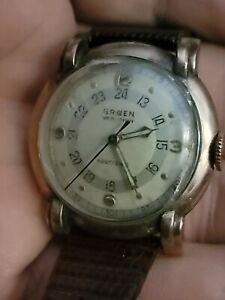 Men's Gruen Veri-Thin Pan-Am Vintage 1940's Pilot's Watch