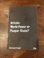 Britain: World Power Or Pauper State? National Front, NF, BNP, Fascism, Tyndall