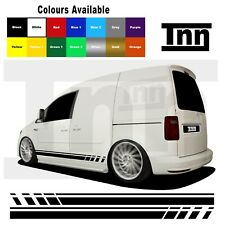 Side Stripe Stickers For VW Volkswagen Caddy Sticker Decal Vinyl Camper
