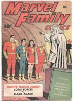 Marvel Family Comics 1 Fawcett 1945 GD 2.0 1st Black Adam Shazam Captain Mary
