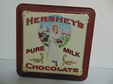Vintage Hershey's Chocolates Tin Hershey Girl Vintage Edition #2 1992 Candy Tin