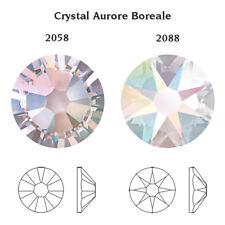 2058 Ss5 CI 50 Swarovski Rhinestones Flat Bottom 1 8mm Crystal AB F