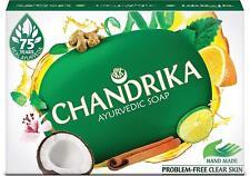Chandrika Ayurvedic Soap - Original - 75g x 10 Soaps