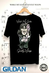 The Beatles - George Harrison - Guitar Gently Weeps - Superb shirt all sizes