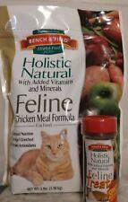 Bench & Field Cat Holistic Natural Cat Food (3lb bag) & Treat