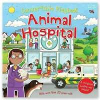 Miles Kelly Convertible Animal Hospital 3 in 1 Storybook Building and Playmat