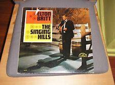Elton Britt LP The Singing Hills '65 Mono White Label Promo Country