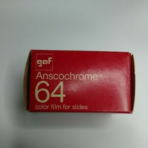 GAF Anscochrome 64 Daylight 135/20 Processing Included Vintage
