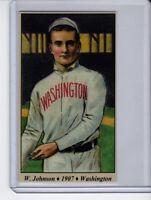 Walter Johnson Washington Senators rookie year Tobacco Road series #28