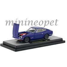 M2 40300-72 B AUTO JAPAN 1970 NISSAN FAIRLADY Z432 1/24 DIECAST CAR BLUE