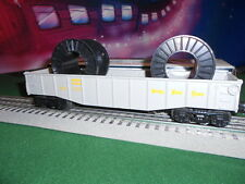Lionel 6-16328 Nickle Plate Road Gondola With Cable Reels Built 1-89