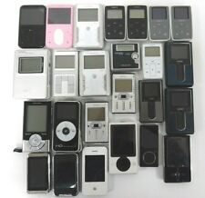 Lot of 25 MP3 Players; Mixed Brands and Models [For Parts Only] - Free Shipping