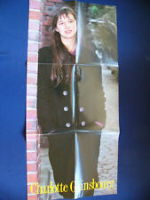 1990 Charlotte Gainsbourg / Gloria Yip Japan VINTAGE Poster VERY RARE