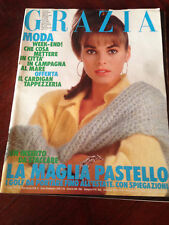 GRAZIA 2 Febbraio 1986 N.2345  Rivista Magazine Sophie Duez Gallè