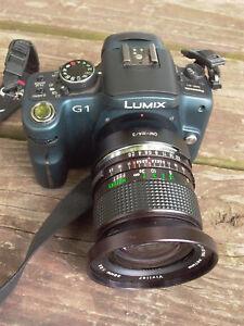 Vivitar Olympus OM 28mm F:2.5 caps f/ om m4/3 Nex NICE