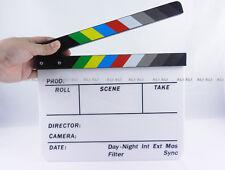 Clapperboard TV Film Movie Clapper Board Handmade Colorful