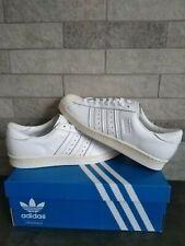 Adidas Superstars Decon White Leather UK 9 Bnib