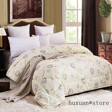 Luxury Cashmere Comforter Sheep Fleece Quilt Sanding Wool Spring Blanket Wool