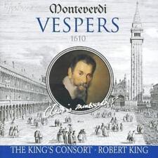 Claudio Monteverdi : Vespers: 1610 (King, the King's Consort) CD (2006)