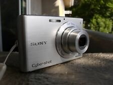 SONY CYBERSHOT DSC-W330 14mp 4x ZOOM WITH CHARGER - TESTED AND WORKING