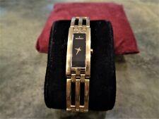 Vintage Rare Ladies Movado Esperanza 88-H5-1400 Swiss Watch 5 Jewels 18K GP