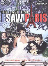 The Last Time I Saw Paris DVD