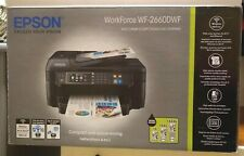 Epson Workforce WF-2660DWF Tintenstrahldrucker Scanner Fax Kopierer WiFi Drucker
