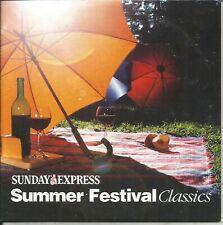 SUMMER FESTIVAL CLASSICS - SUNDAY EXPRESS PROMO MUSIC CD